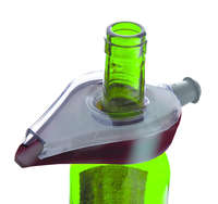 Aérateur verseur Wine Aérator gris Vacuvin