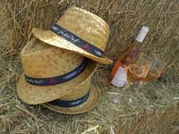 Chapeau Ernest paille naturel bandeau décoré - Vacances, j'oublie tout