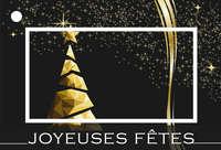 Carte de voeux Brillant - Joyeuses fêtes