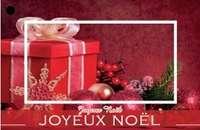 Carte de voeux Brillant - Joyeux Noël