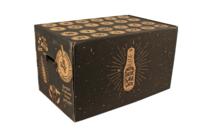 Calendrier de l'avent San Diego carton renforcé décoré 24 bières 25-50cl