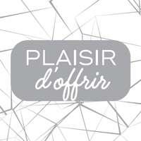 Etiquette adhésive Diamy carrée blanc/argent - Plaisir d'offrir (boîte de 500)