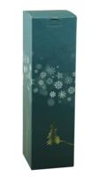 Etui Alaska carton bleu/or/argent/blanc magnum