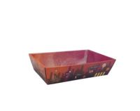 Corbeille Burano carton décoré  34x21x8cm