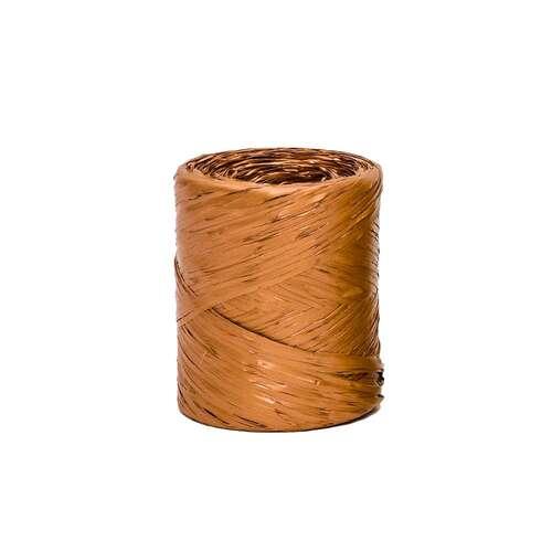 Image du produit Raphia Raphia Basic synthétique cuivre (bobine 200m)