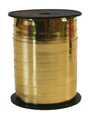 Image du produit Ruban Bolduc Brillant or (bobine 10mmx250m)