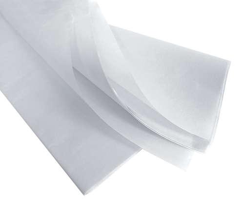 Image du produit Papier mousseline blanc 75x50cm (480 feuilles)