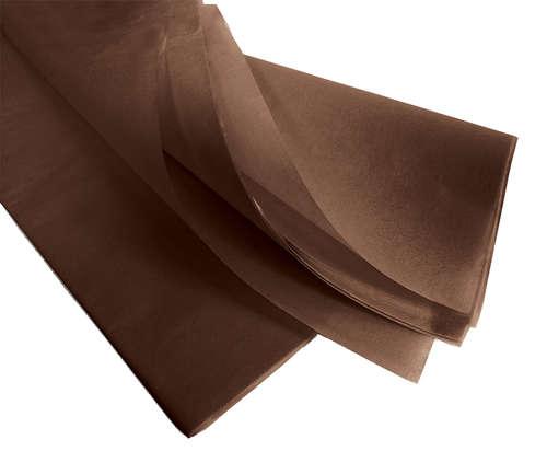 Image du produit Papier mousseline chocolat 75x50cm (480 feuilles)