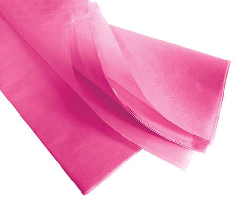 Image du produit Papier mousseline fuchsia75x50cm (480 feuilles)