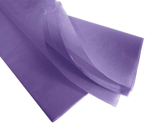 Image du produit Papier mousseline lavande 75x50cm (480 feuilles)