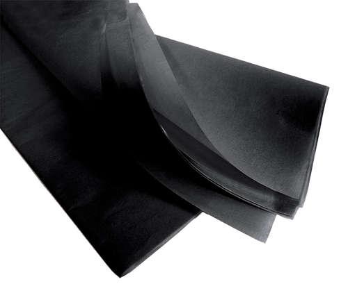Image du produit Papier mousseline noir 75x50cm (480 feuilles)