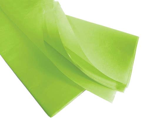 Image du produit Papier mousseline vert pomme 75x50cm (480 feuilles)