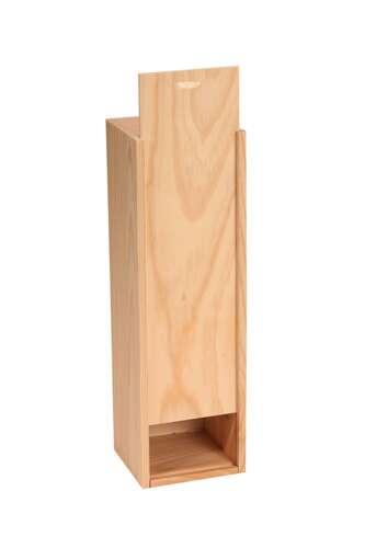 Image du produit Caisse Tradition bois de pin naturel 1 bouteille