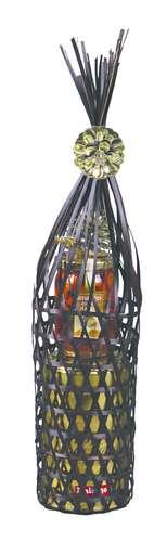 Image du produit Tube Dino bambou ajouré chocolat diam 9x35cm