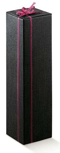 Image du produit Etui Milan carton aspect tissu noir magnum