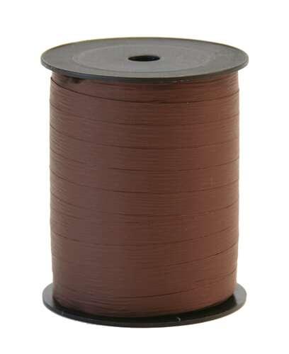 Image du produit Ruban Bolduc Mat cacao (bobine 10mmx250m)