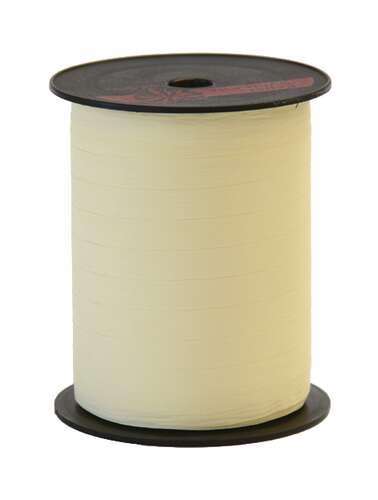 Image du produit Ruban Bolduc Mat ivoire (bobine 10mmx250m)