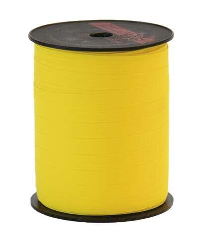 Image du produit Ruban Bolduc Mat jaune (bobine 10mmx250m)