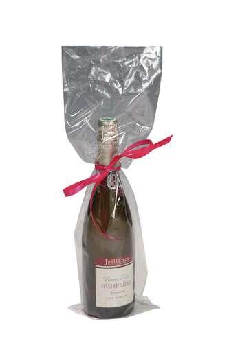 Image du produit Pochette Polyneutre polypro transparent 1 bouteille