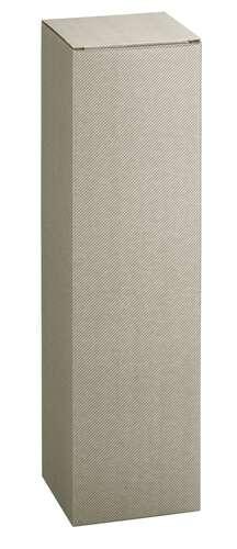 Image du produit Etui New York carton aspect ligne gris taupe magnum