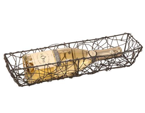 Image du produit Banneton Marcel métal anthracite 42x11x8cm