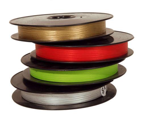 Image du produit Ruban Bolduc Mat large rouge (bobine 19mmx50m)