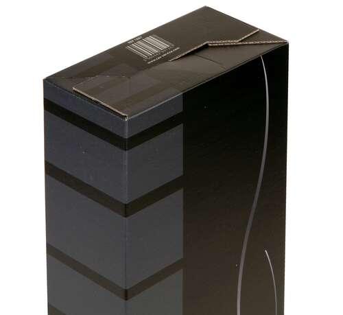 Image du produit Etui Dallas carton noir/gris 2 bouteilles