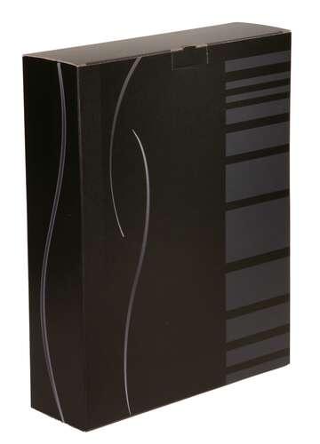 Image du produit Etui Dallas carton noir/gris 3 bouteilles