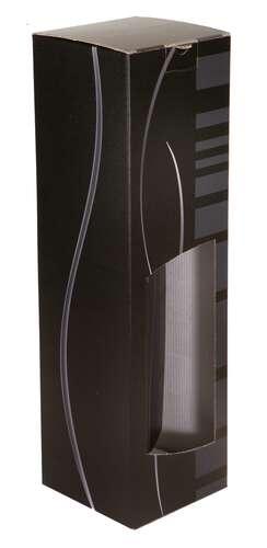 Image du produit Etui Dallas carton noir/gris magnum fenêtre