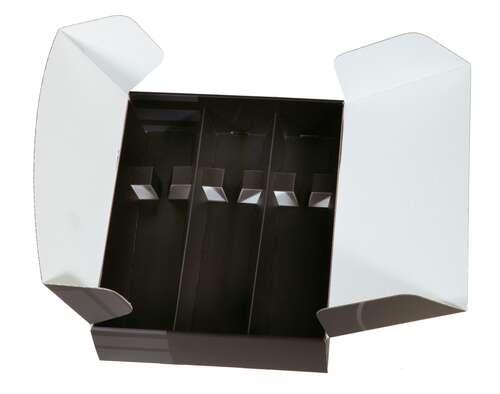 Image du produit Coffret Dallas carton noir/gris 3 bouteilles