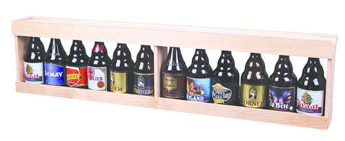 Image du produit Mètre Julio bois naturel 12 bières 33cl (type Steinie)