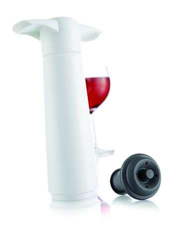 Image du produit Pompe à vide Wine Saver Blister blanche Vacuvin