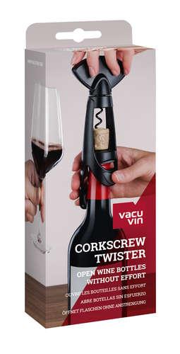 Image du produit Tire-bouchon Twister Gift Pack noir Vacuvin