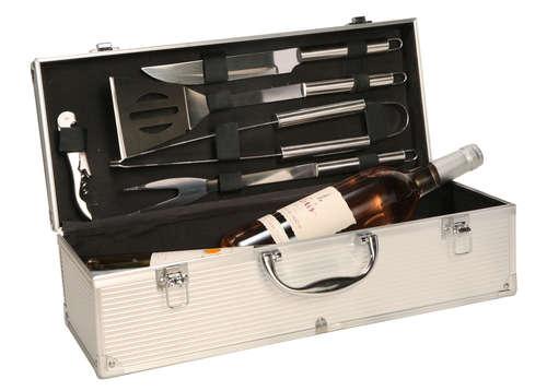 Image du produit Coffret BBQ Baptiste magnum/3 bouteilles alu 5 pièces