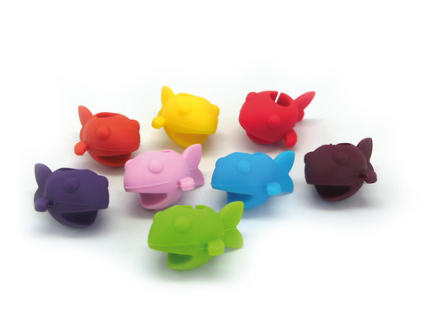 Image du produit Marque-verre Fish VinBouquet (8 pièces)