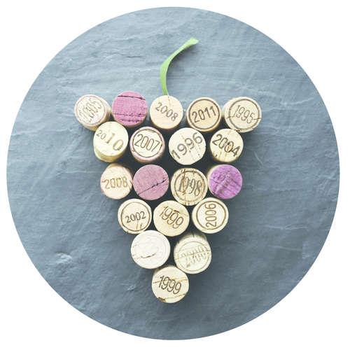 Image du produit Bouchon Vinolok cristal - Grappe millésimes