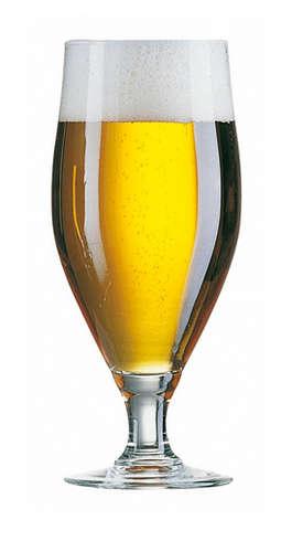 Image du produit Verre à bière Cervoise sur pied 38cl
