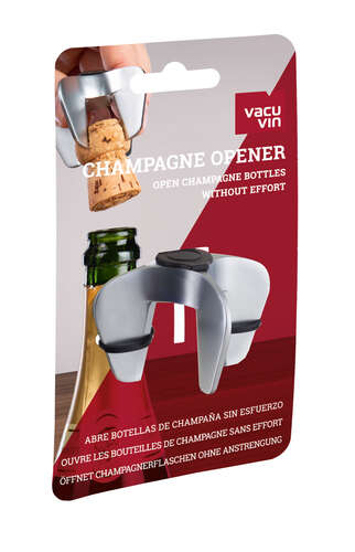 Image du produit Griffe Champagne Opener métal Vacuvin
