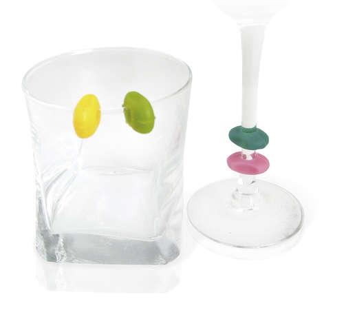 Image du produit Marque-verre Jacky VinBouquet (12pièces)