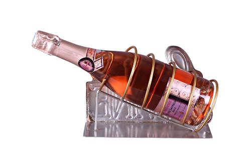 Image du produit Support bouteille Félix métal - Love et Wine