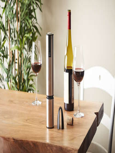 Image du produit Tire-bouchon électrique Elis Touch inox Peugeot