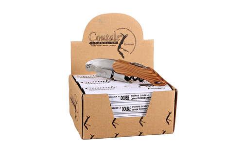 Image du produit Sommelier Coutale Premium imitation bois