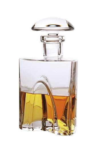 Image du produit Carafe à whisky Jack triangle bouchon 0,75l