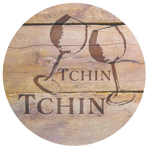 Image du produit Bouchon Vinolok cristal - Bois/Tchin tchin