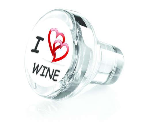 Image du produit Bouchon Vinolok cristal - Love/I love wine