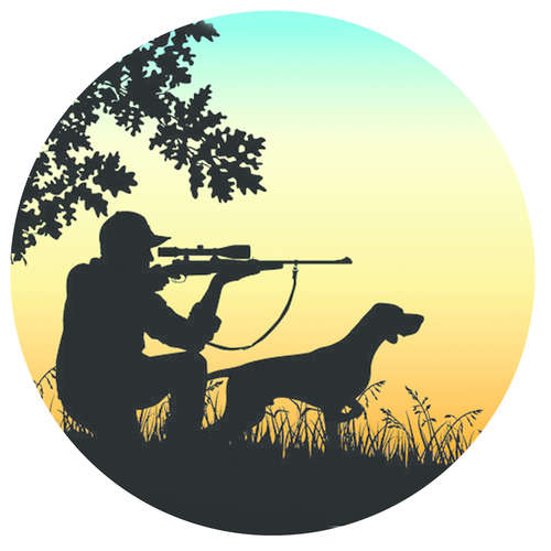 Image du produit Bouchon Vinolok cristal - Chasse/Chasseur et son chien