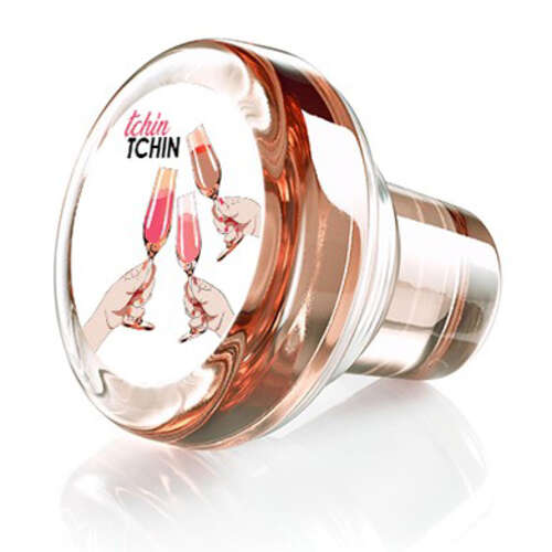 Image du produit Bouchon Vinolok cristal rose - Party/Tchin tchin