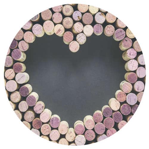 Image du produit Bouchon Vinolok  cristal - Love/Coeur bouchon
