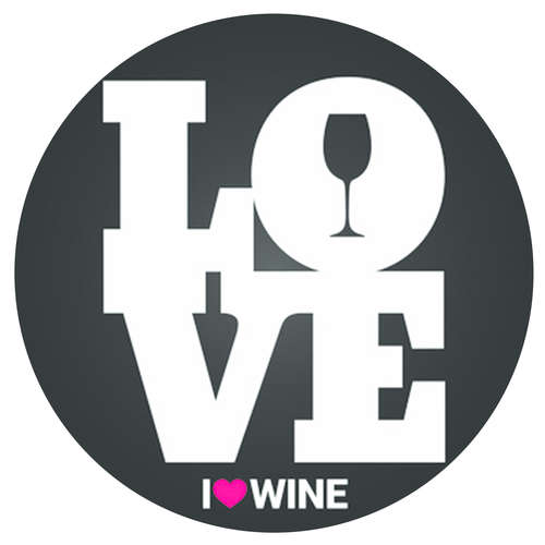 Image du produit Bouchon Vinolok cristal noir - Love/Noir et Blanc