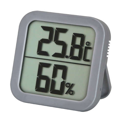 Image du produit Thermomètre hygromètre digital 8x8cm